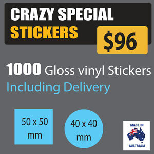 Custom Printed Labels or stickers Address Labels Waterproof