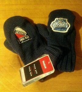 Image is loading NHL-New-York-Rangers-Reebok-Winter-Classic-Mittens- 16359508e