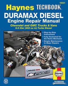 Duramax-Diesel-Engine-Shop-Manual-Service-Repair-Book-Chevrolet-Haynes-2001-2012