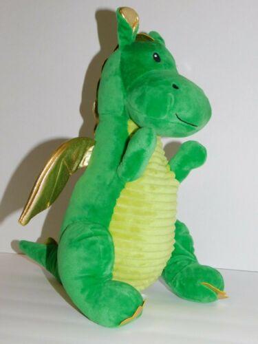 Dragon Stuffed Plush Green 11.5 Inches