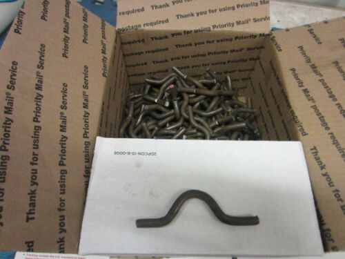 Weld on fence clips size 5//16 by 1 inch lot of 200