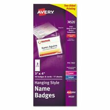 Avery Necklace Style Badge Holder Top Load 4 X 3 We 50box 74520