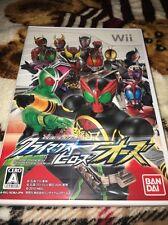 Wii - Kamen Rider Heroes OOO (Japan, Japanese, Import)