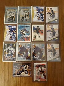 Lot-of-14-Dominik-Hasek-Hockey-Card-Collection-includes-RC-Sabres-Blackhawks