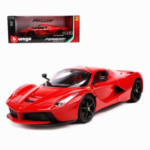 Bburago 1 18 Ferrari Laferrari Diecast Metal Model Roadster Car New In Box Red