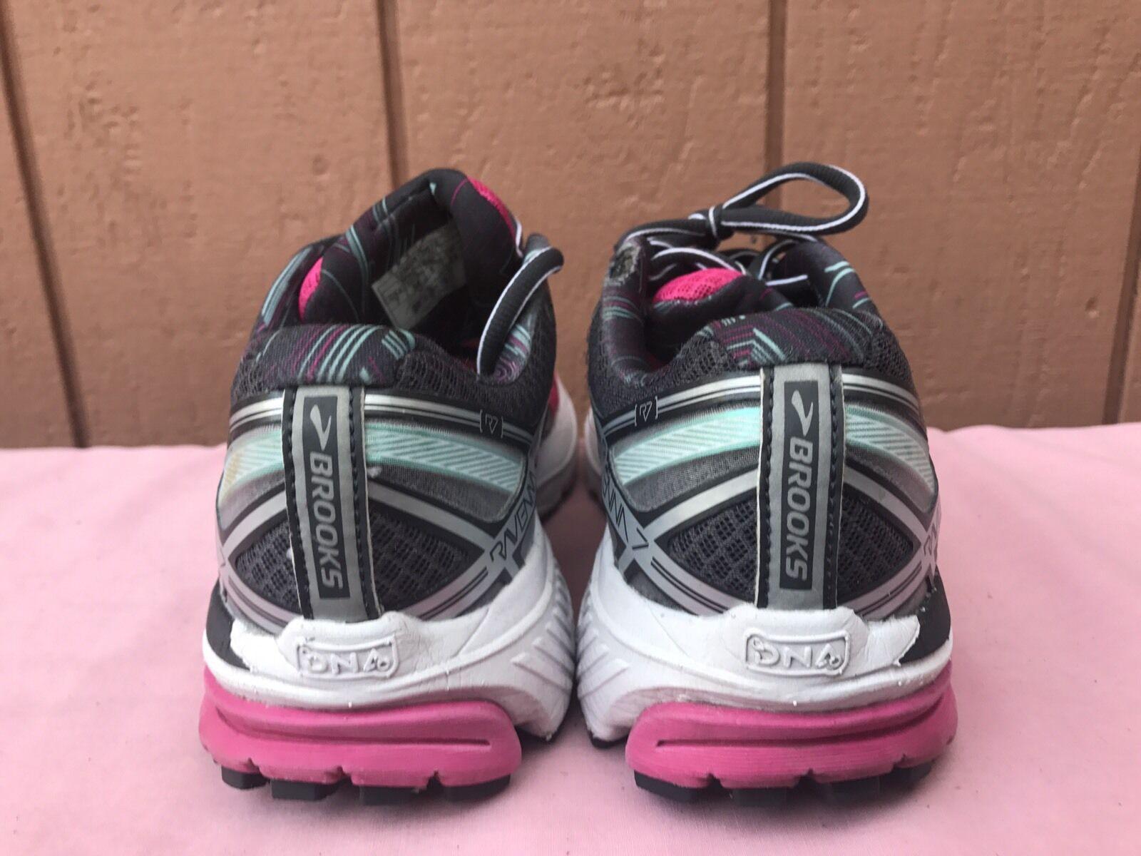 EUC BROOKS 7B WOMEN'S RAVENNA 7 US 7B BROOKS EUR 38 FUCHSIA PURPLE RUNNING Schuhe SNEAKERS 704a71