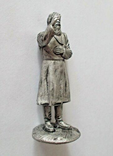 1//32 Rasputin Russian Mystic Holy Man Magician Tin metal figure 54mm handmade