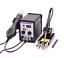 2-En1-8586-Station-de-Fer-a-Dessouder-Numerique-le-Pistolet-a-Air-Chaud-SMD-LED miniature 1