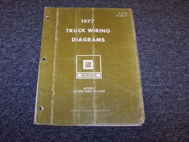 1977 Chevy C1500 C2500 C3500 K1500 K2500 K3500 Electrical