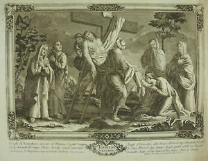 Path-Cross-Original-Engraving-18th-Thirteenth-Stations-Of-Christ-via-Crucis
