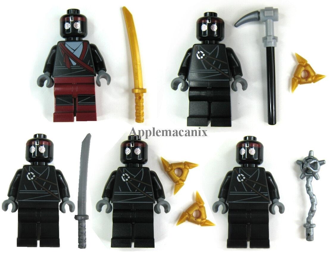 nuovo LEGO Teenage Mutant Ninja Turtles TMNT  5 FOOT SOLDIERS Minicifra cifra Set  in vendita online
