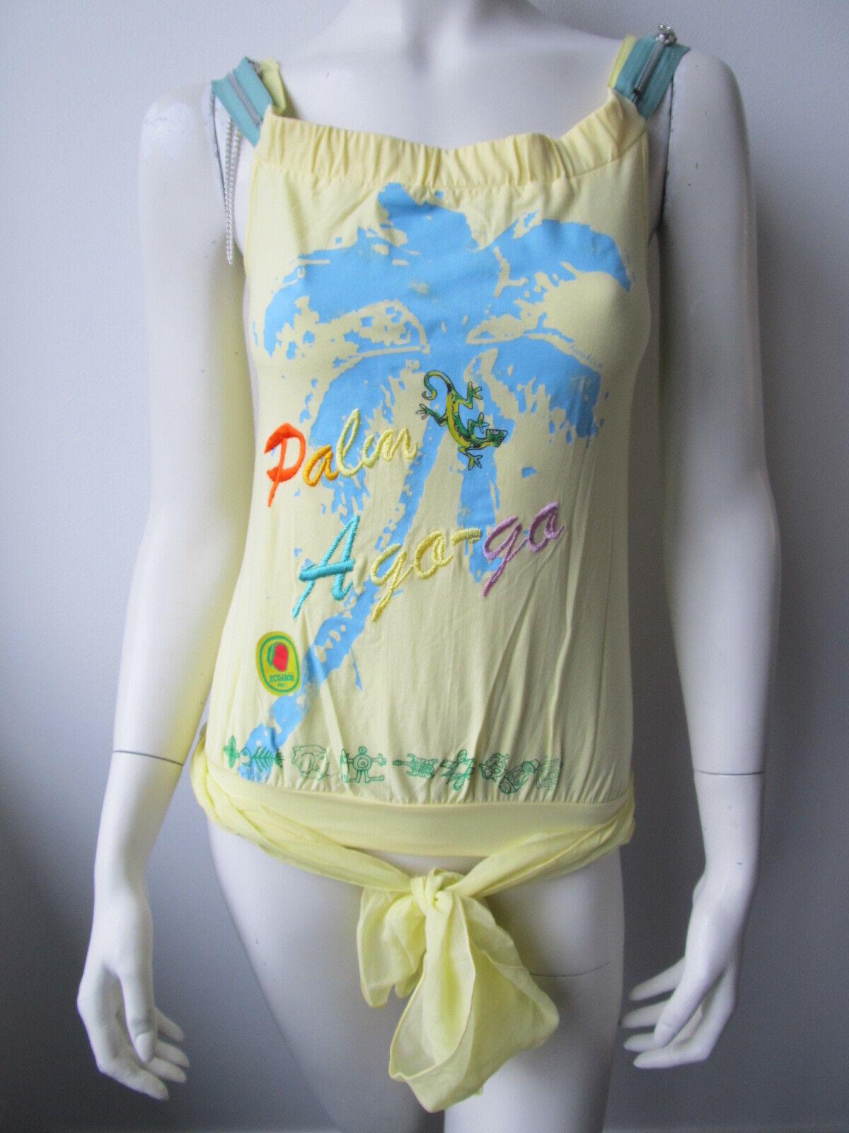 Anna Rita N Damen Blause Maglia Top Shirt Neu 34 36 38
