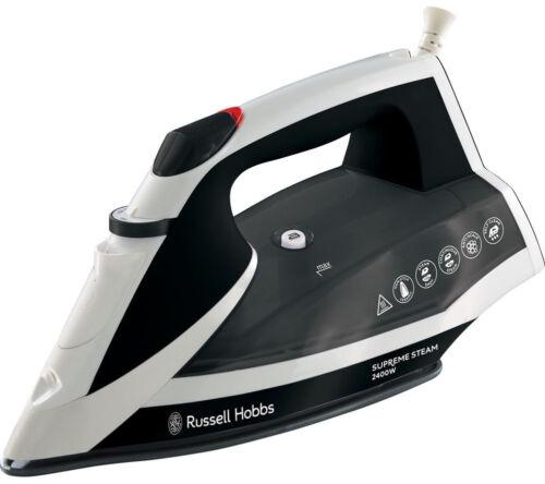 Currys White /& Black RUSSELL HOBBS Supremesteam 23052 Steam Iron