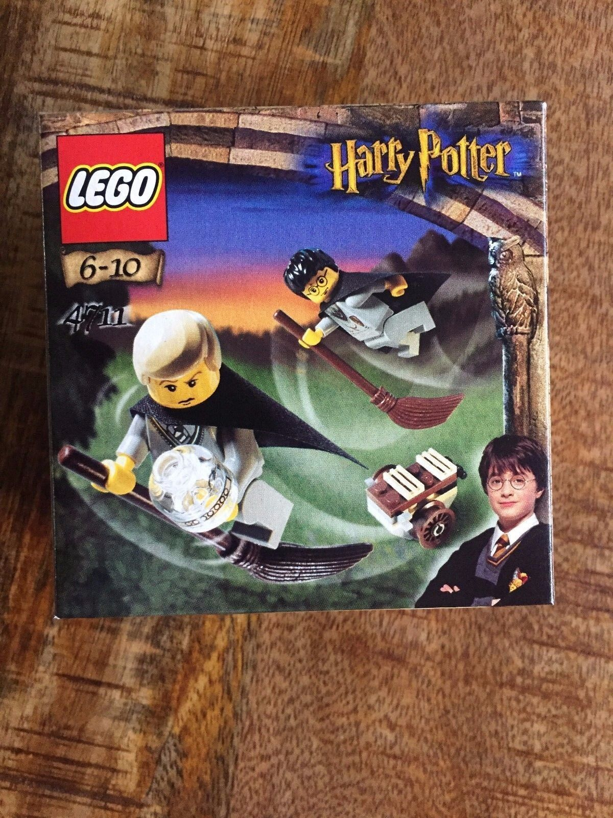 LEGO Harry Potter and the Sorcerer's Stone Flying Lesson (4711) Early Minifig
