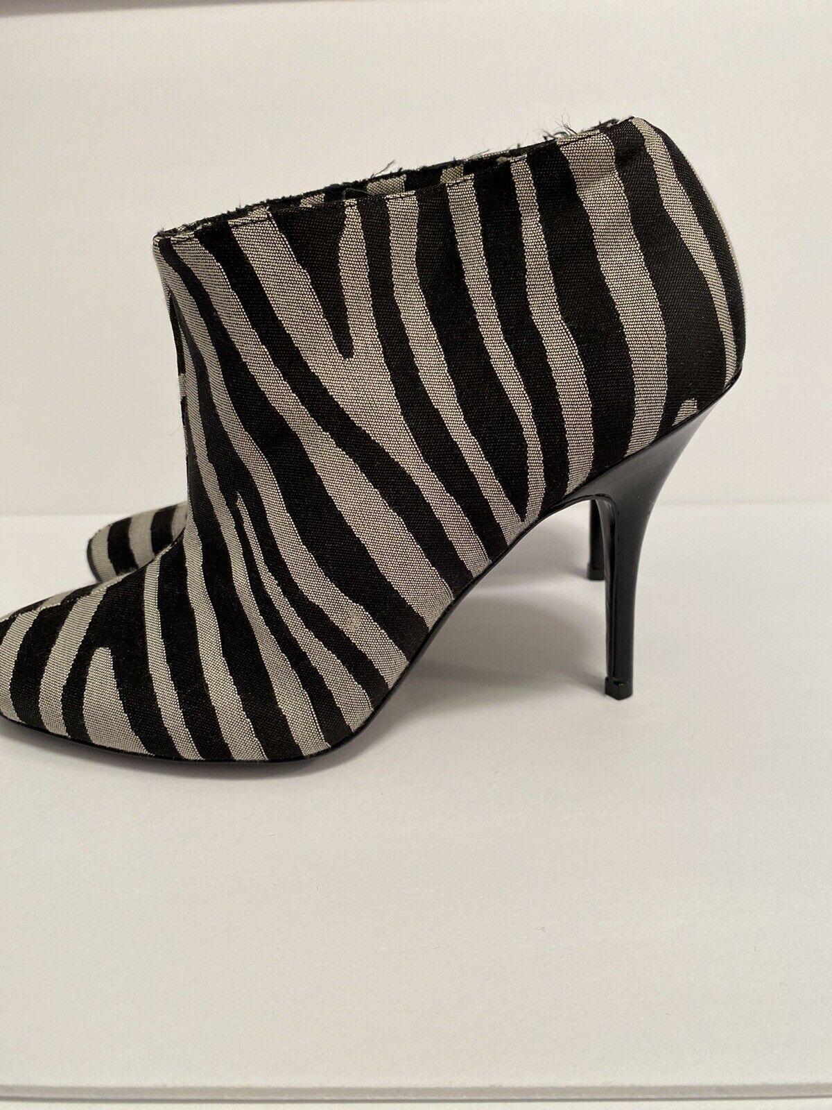 Stella McCartney Zebra Striped Boots Size 36 - image 5