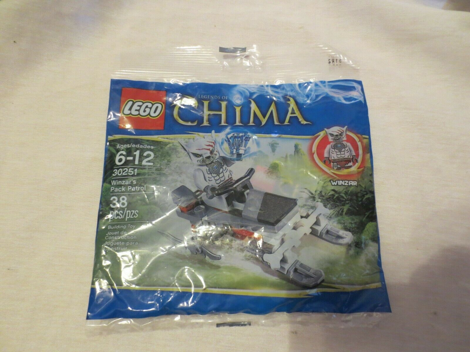 LEGO LEGENDS OF CHIMA 30251 WINZAR/'s PACK PATROL NEW SEALED PROMO