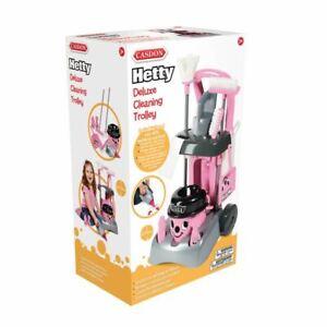 Casdon Kids Toy Little Helper Deluxe Hetty Nettoyage Chariot