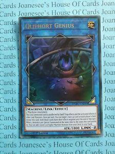 Ultra Rare DUPO-EN095 Yugioh 1st Ed Qliphort Genius