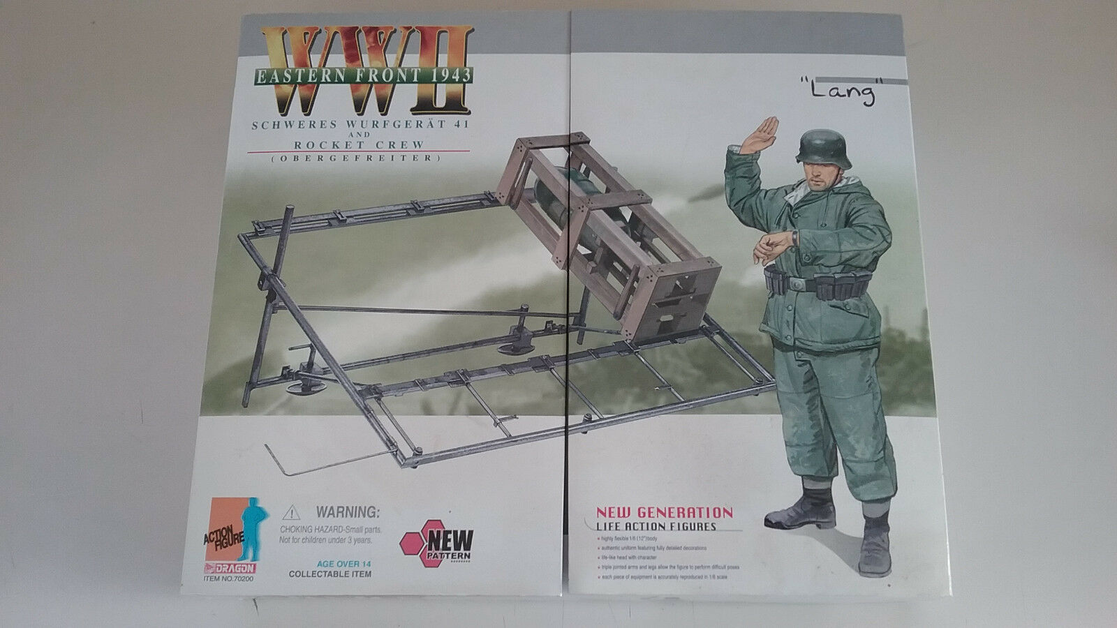 1/6 scale Dragon Action Figs  WWII Eastern Front  German