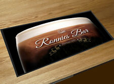Personalised Guinness Stout Gold Label Bar runner Cocktail Partys Pubs & Clubs