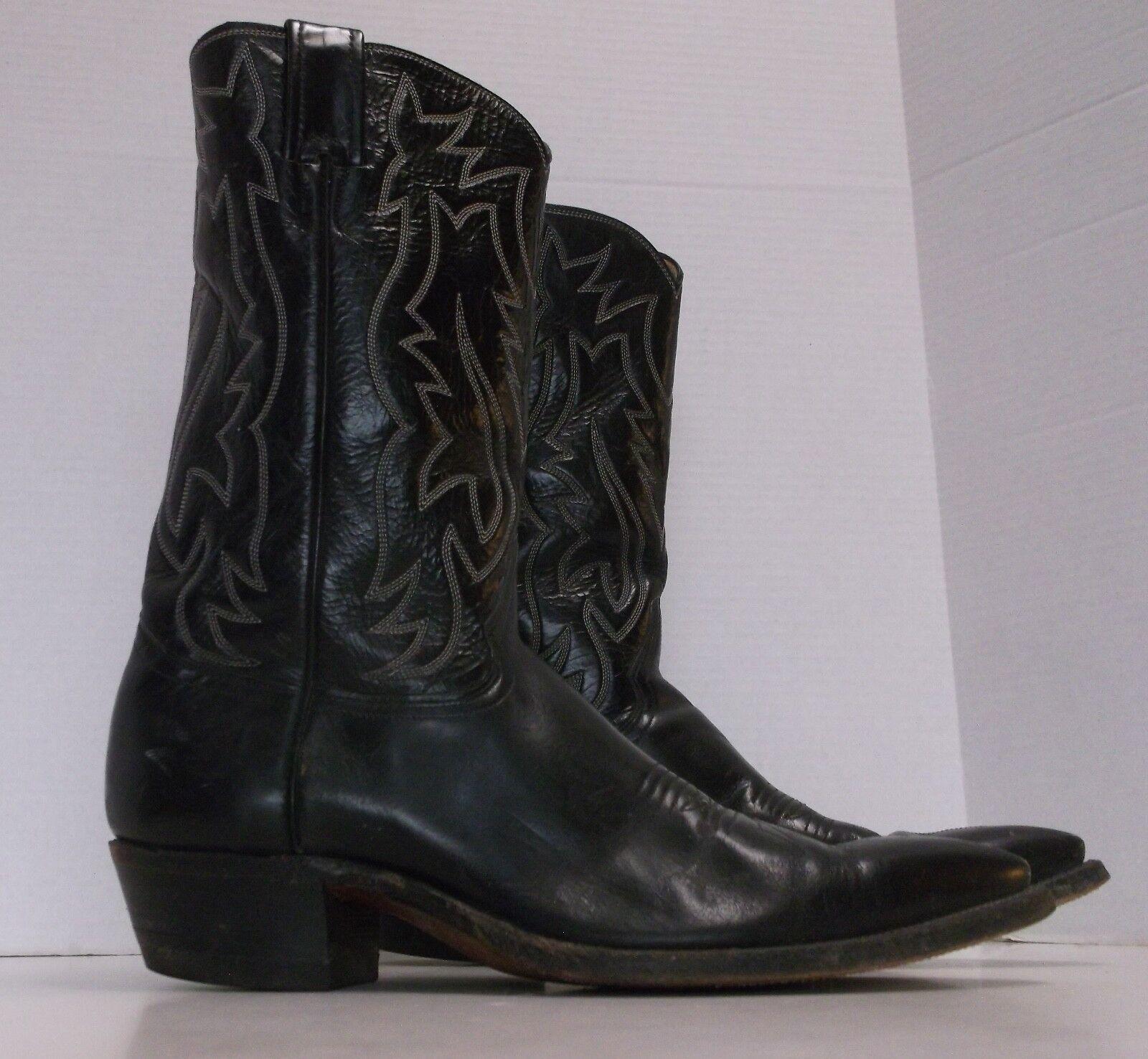 Uomini e 'justin torna in cuoio cowboy stile ranch occidentale stivali 2916, 10.5b, stati uniti fatto