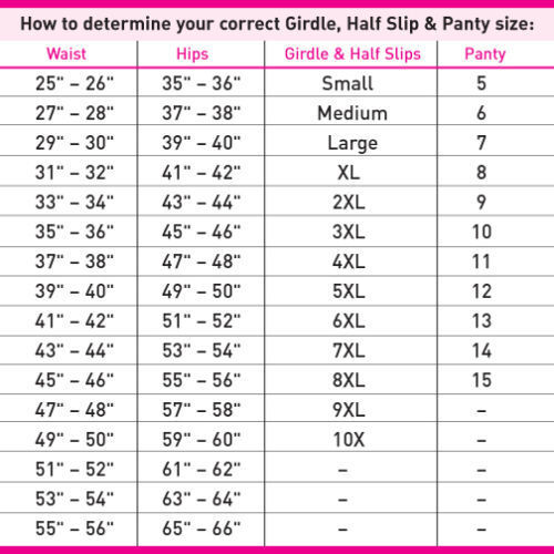 BALI Skimp Skamp Nylon//Spandex Pink Chic Print Full-Cut Brief Plus Size 10//3XL