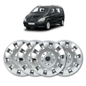 Mercedes Vito High Quality Abs 16 Wheel Trim Set Ebay