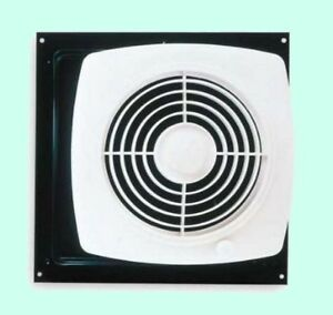 Kitchen Exhaust Fan Through Wall Ventilation Laundry Room Workshop With  Switch