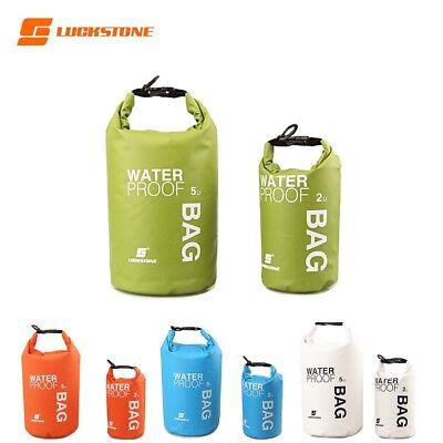 Reusable Waterproof Dry Bag Swimming Surfing Kayak Storage Pouch Floating Sack