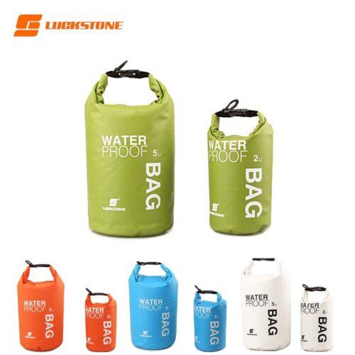 Waterproof Dry Bag Swimming Surfing Kayak Storage Pouch Floating Sack 2-15L