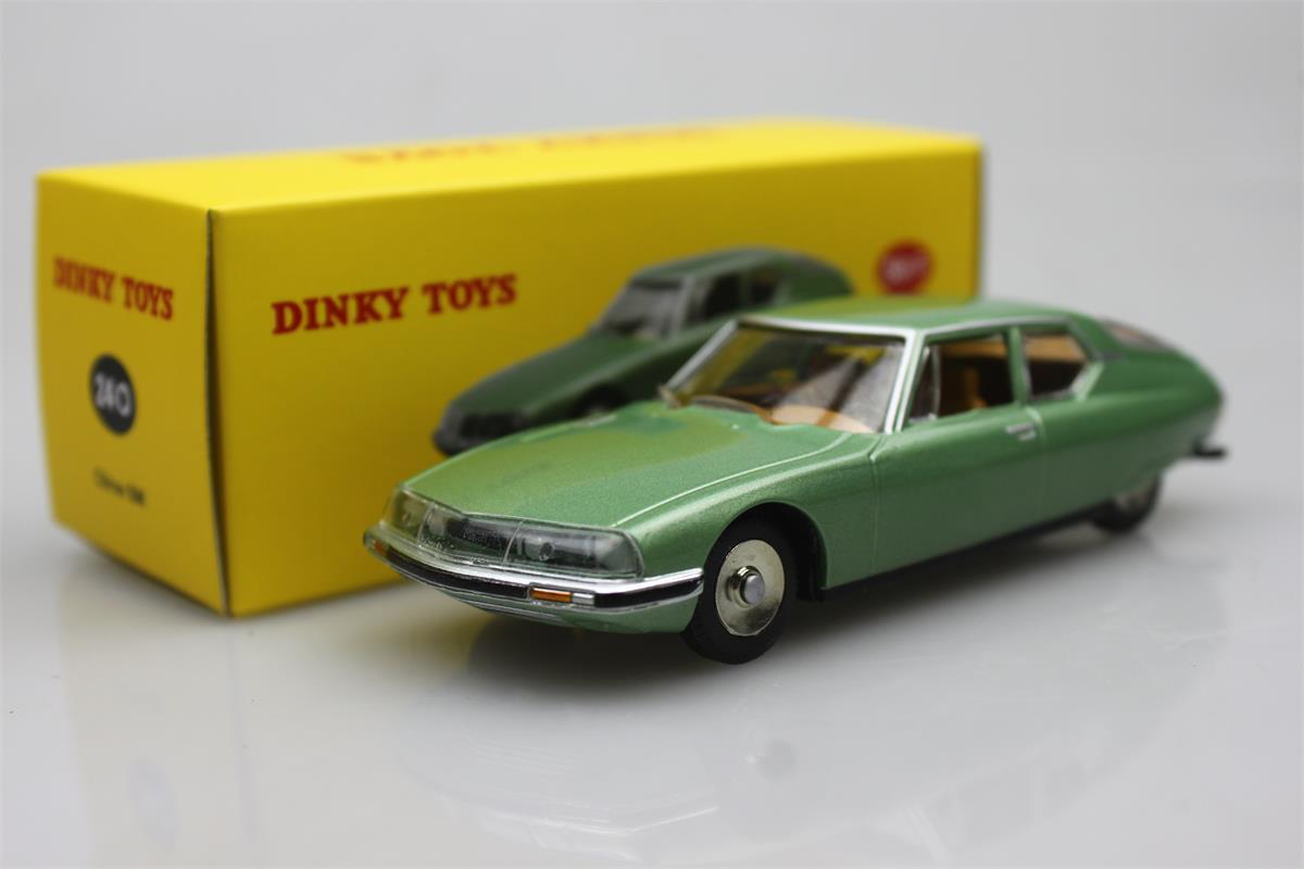 Atlas green 24 O Dinky toys 1 43 Citroen SM 1970 Alloy car model