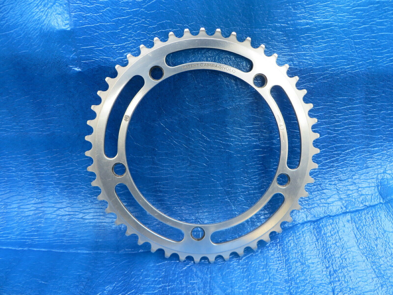 Campagnolo Record 144BCD 1 8  NJS Approved Chainring 47T Pista (17051924)