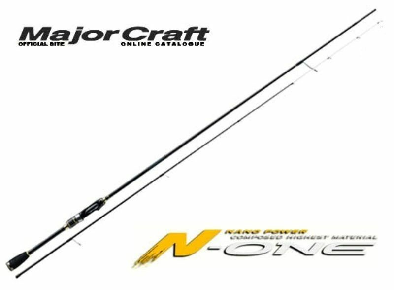 Major Craft N-ONE 2 piece rod NSE-S862E SOLID TIP   big discount prices