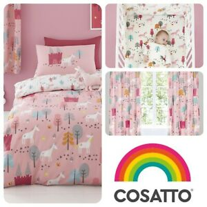 Cosatto-UNICORN-LAND-Baby-Childrens-Kids-Bedroom-Set-Duvet-Cover-Grow-Bag-Girls