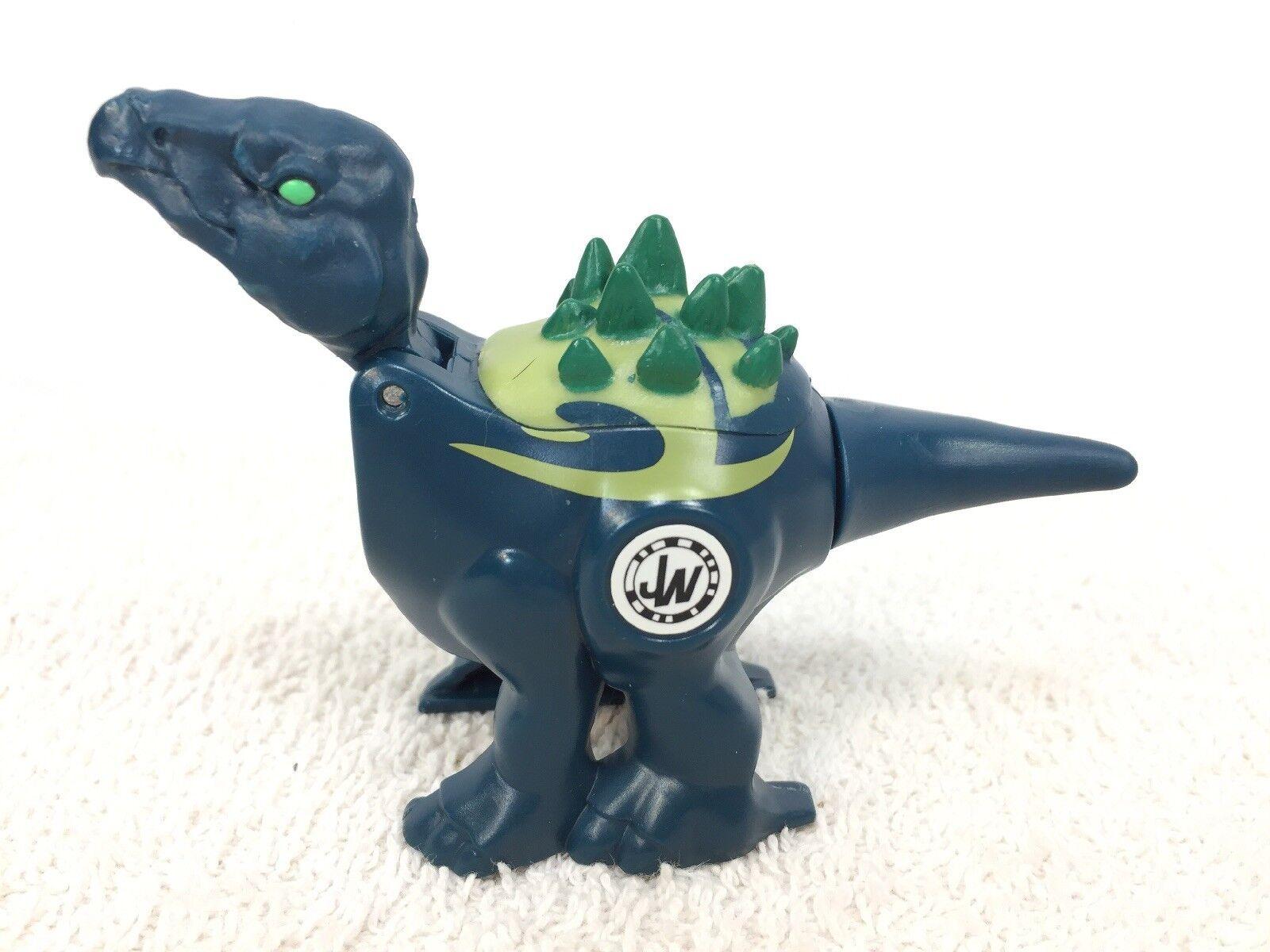 Jurassic World Brawlasaurs Stegosaurus & Velociraptor Hasbro 2014 Wind Up Up Up Works efa736