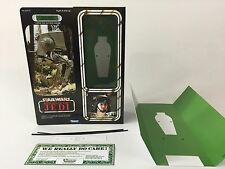 "custom vintage Star wars rotj 12"" han solo AT-ST driver disguise box and inserts"