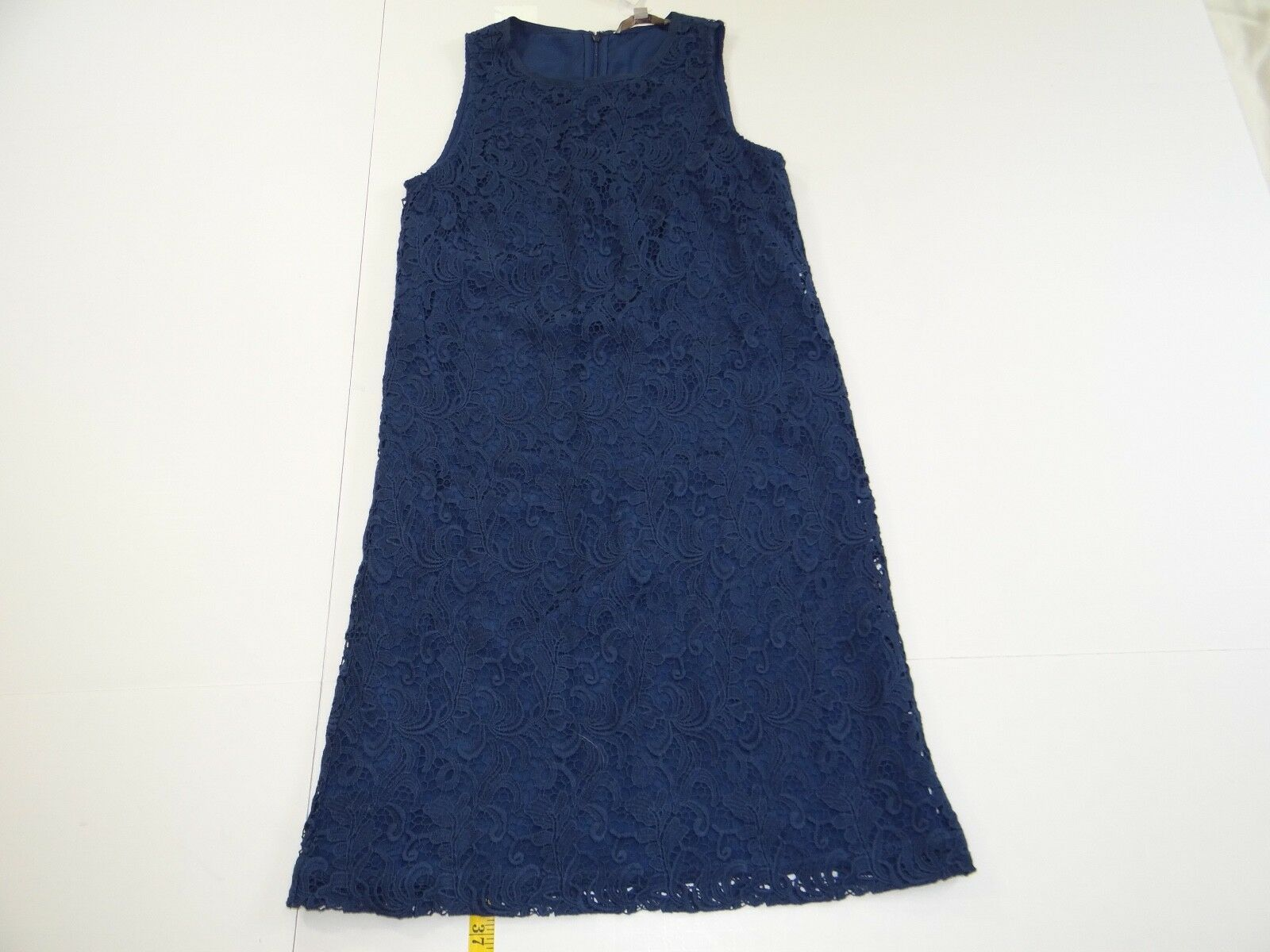 Ann Taylor LOFT Woherren Blau Sleeveless Lace Dress 4T 4 Tall NWT NEW