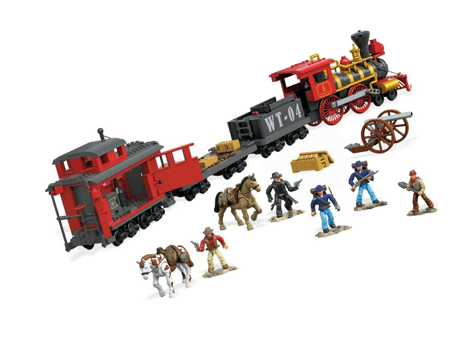 Mega Construx Probuilder Building Set (1272 Piece) Piece) Piece) Train Heist 71d4bb