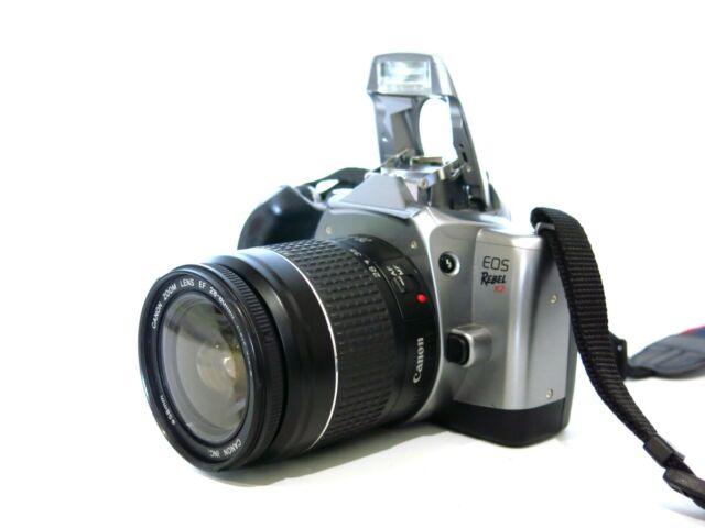 Canon Eos Rebel K2 35mm Film Slr W   Eos 28
