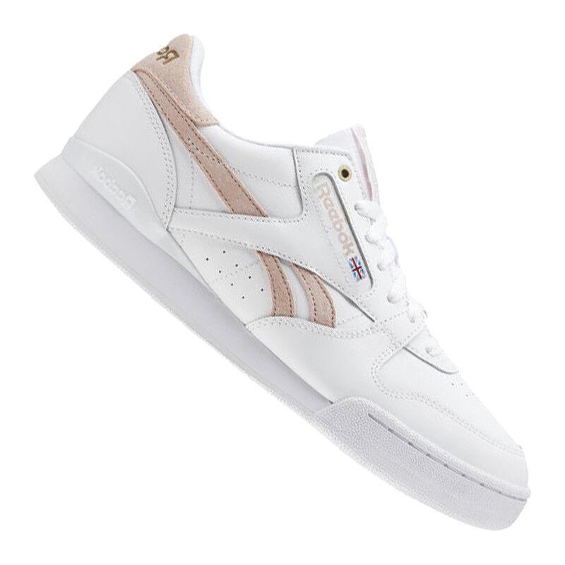 Reebok fase 1 por gris de zapatillas blancoa MU