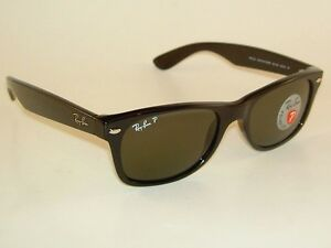 ea7a41419444 Image is loading Ray-Ban-New-WAYFARER-Black-Frame-RB-2132-