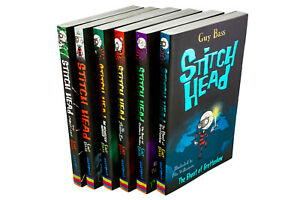 Stitch-Head-6-Book-Collection-By-Guy-Bass-Stitch-Head-The-Beast-of-Grubbers-Nu