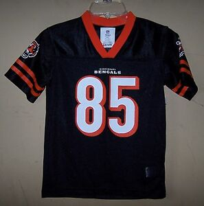 40cab747f601d Image is loading Youth-85-Tyler-EIFERT-Cincinnati-BENGALS-Black-Football-