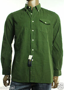 new mens polo ralph lauren regular fit hunter green