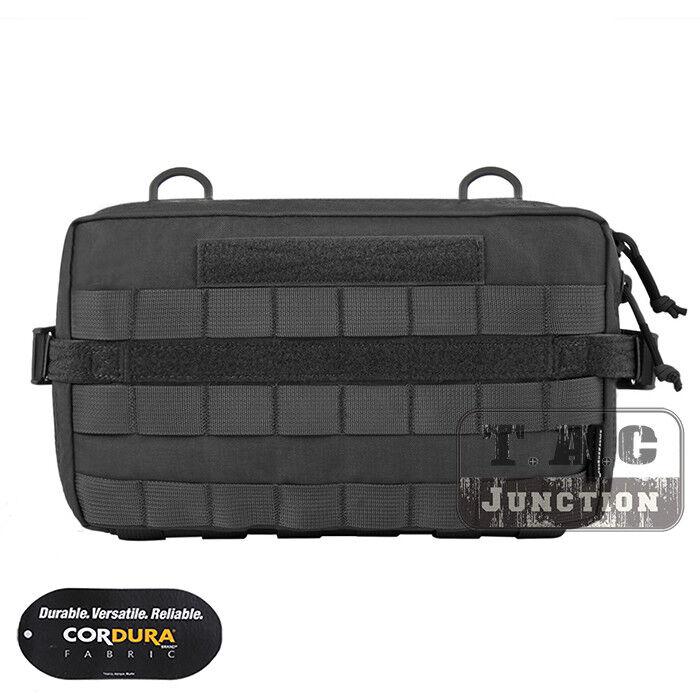 Emerson Tactical MOLLE Modular Accessory Pouch Multi-Purpose Debris Waist Bag BK