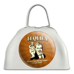 Acheter Pas Cher Tequila Car Lit Ne Va Pas Spin Lui-même Drôle Sonnaille Vache Bell Instrument-afficher Le Titre D'origine