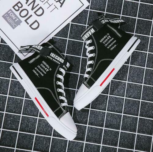 Fashion Men/'s Casual  High Top Sport Shoes Sneakers Athletic Canvas Shoes