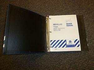 New Holland T1520 Tractor Shop Service Repair Manual | eBay