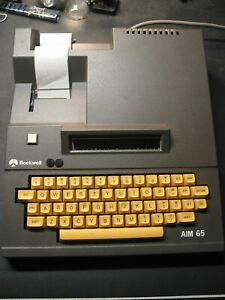 Rockwell-AIM-65-microcomputer-working-w-Basic-Assembler-ROM-EPROMs-docs-on-CD