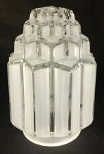 """New Art Deco Skyscraper Table Lamp Shade, 3 1/4"""" Fitter, 6 1/16"""" tall, #AS967C"""